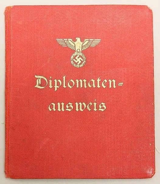 Germany Diplomatenausweis