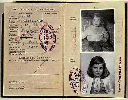 UK Lady Diana Spencer as child
