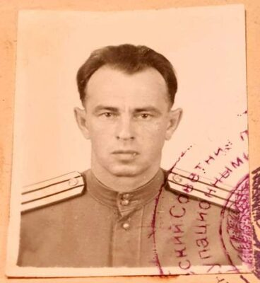 Travel Document Soviet Occupation of Germany