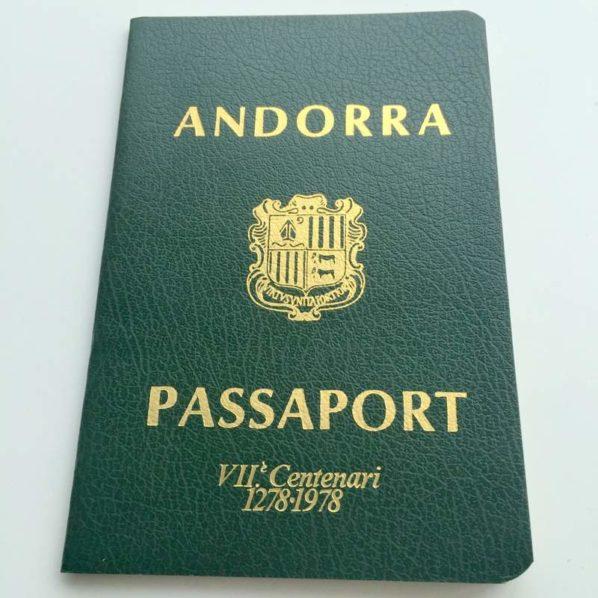 ANDORRA 700 years anniversary issue - Very rare!