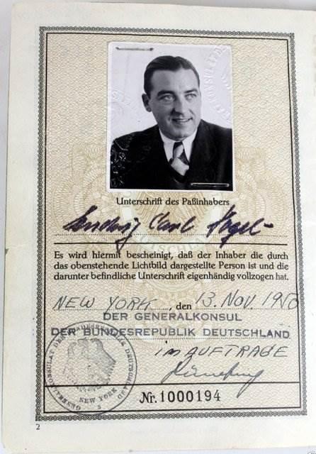 BRD 1950 NY