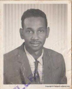 British Passport - Colony Of Trinidad & Tobago 1960 - Aircraft Engineer