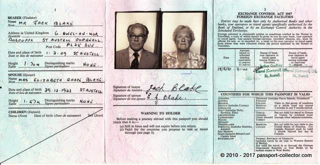 The Simplicity Of A Travel Document - The British Visitor's Passport