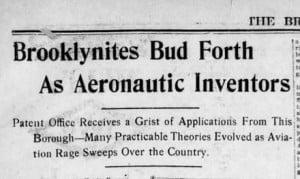 Aeronautics Pioneer Theodore Windel Large Passport 1915