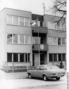 Swiss Passport issued in East Berlin, East Germany