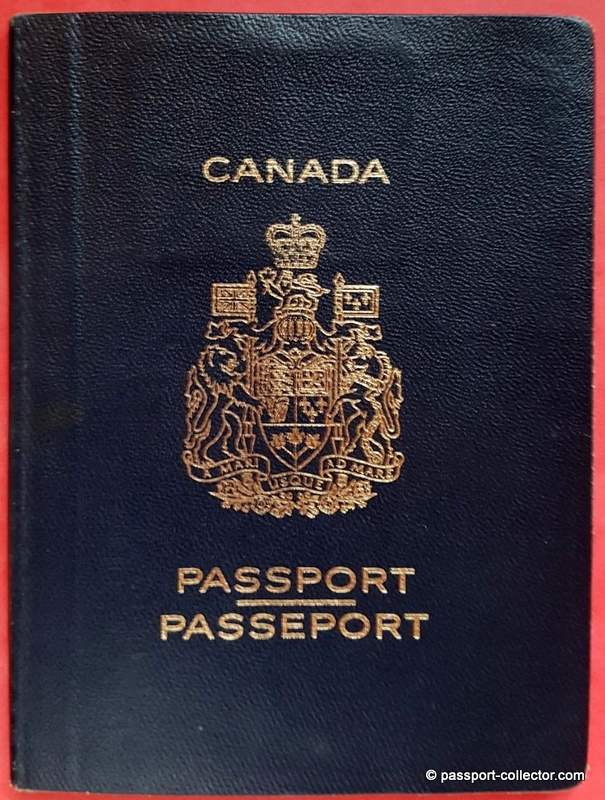 Passport of a Special Representative of the UN Secretary General