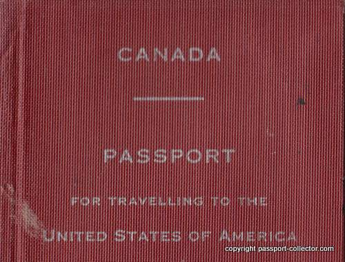 Canada passport for traveling to the USA only