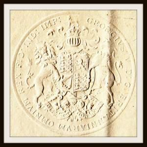 Passports Of British Consul Arthur Woodhouse