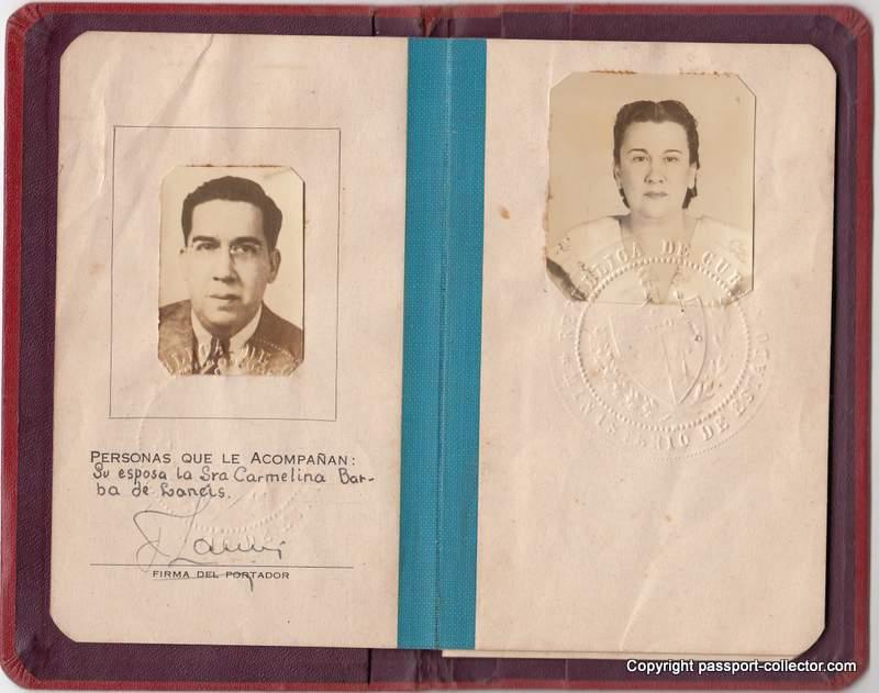 Cuba Diplomatic Passport