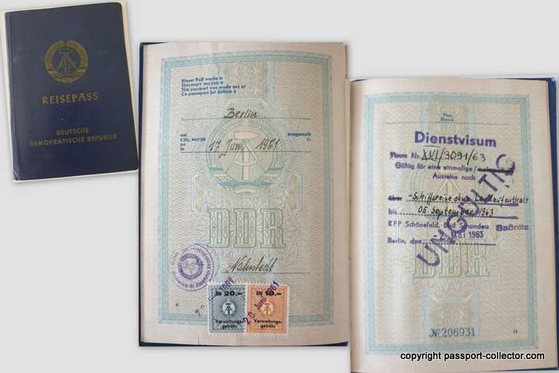 DDR !961 passport