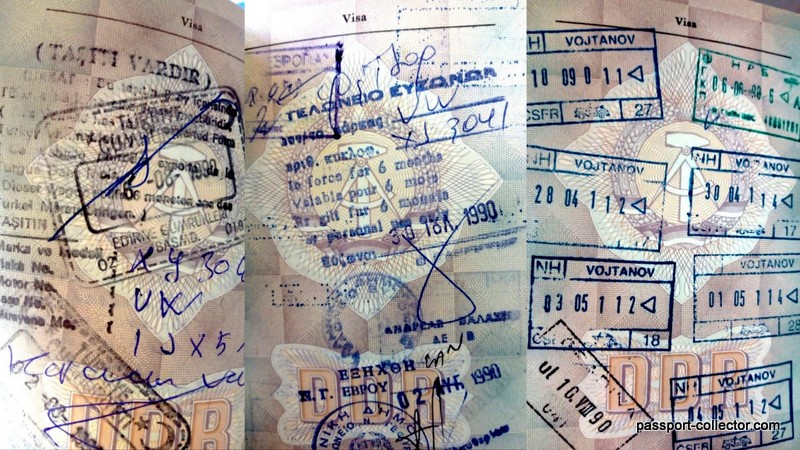 german passport karl-marx stadt