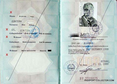 East german passport history