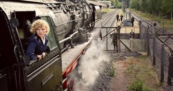 Interzonal Train D151 – 13 Aug 1961 – Berlin Wall