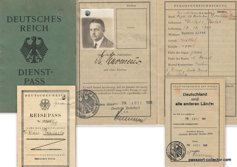 German Service Passport Attache