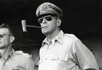 Field Marshal Douglas MacArthur's Passport
