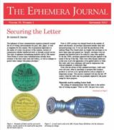 Another Article For The Ephemera Journal On Historical Passports