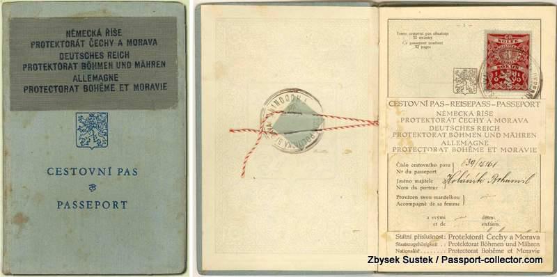 Bohemia Moravia Passport