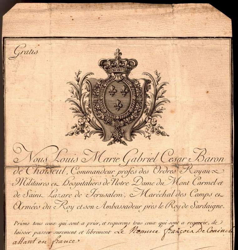 French Passport Belgian Diplomat