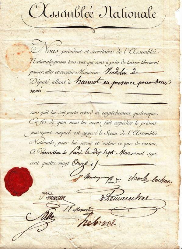 France 1791 National Assembly