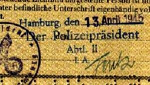 One Of The Last German Third Reich Passports Found