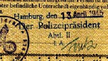 One Of The Last German Third Reich Passports Found