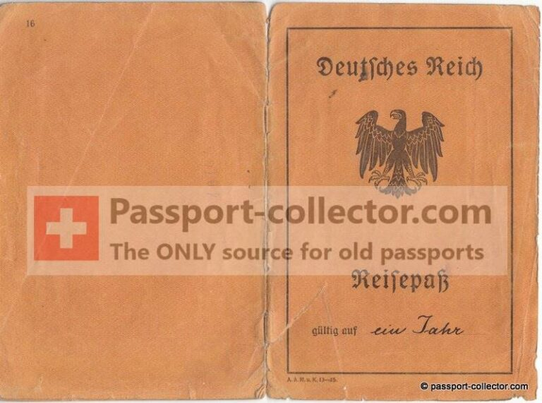 Ernst Munzinger Passport – 20 July Plot
