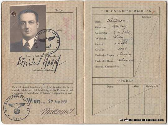 German Jew denied to travel due to missing J-stamp