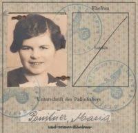 Interesting German Passport 1939, London
