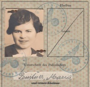 Interesting German Passport 1939, London