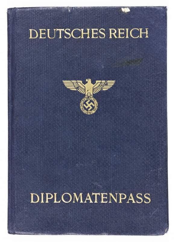 Alexander von Doernberg - Diplomatic Passport