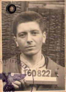 Forced Laborer Third Reich Alien Passport 1944