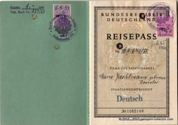 Germany Berlin 1951