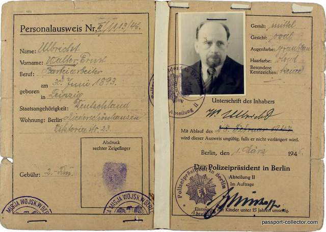 Walther Ulbricht papers wall