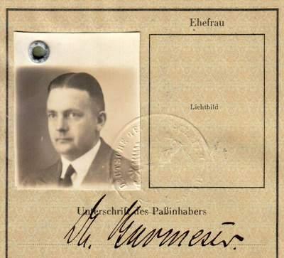 German Service Passport – Commercial Attache