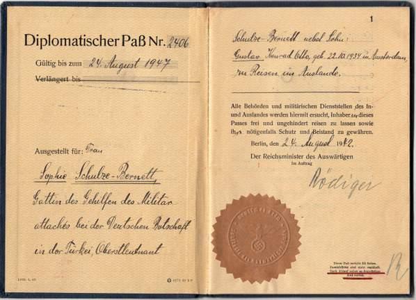 Germany Diplomatic 1942