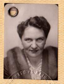 Third Reich Diplomatic Passport Sophie Schulze-Bernett