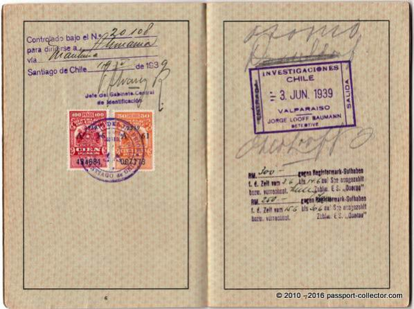 Germany J 1939 Chile Mandschuko Latvia Russia Japan USA-004