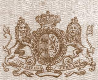 Very Rare North German Confederation Passport Issued 1875