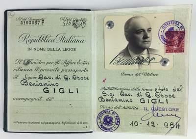 Italian Tenor Beniamino Gigli – Caruso Secondo