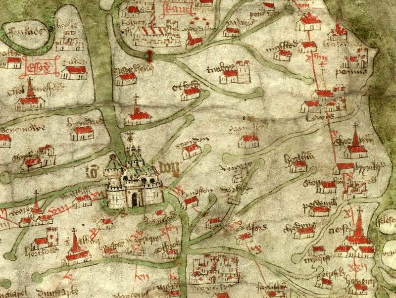 traveling medieval England