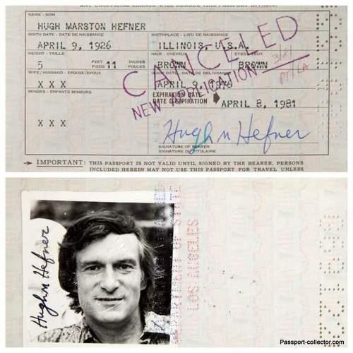 Celebrity Passport Auction Results