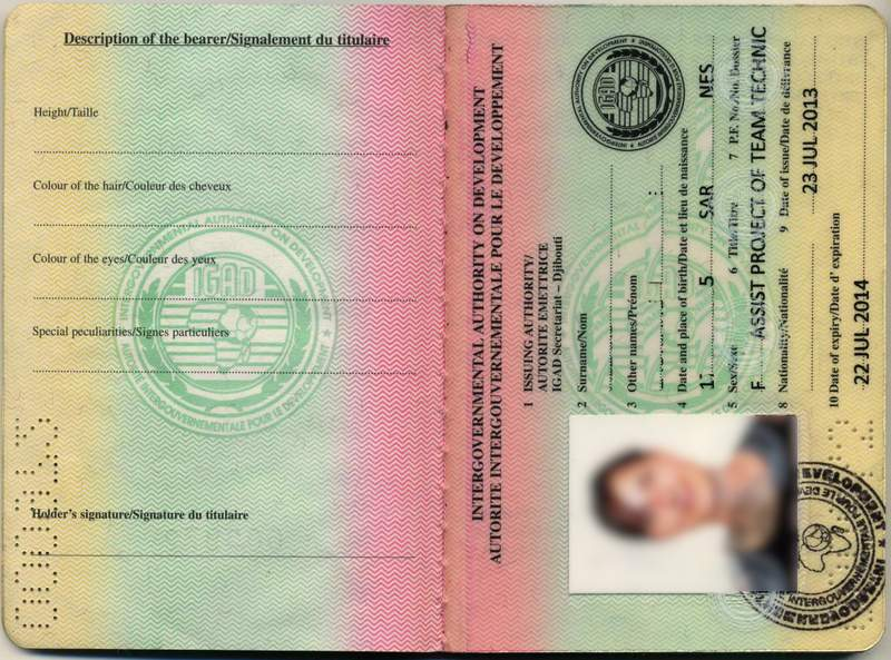 Did you ever hear of an IGAD Passport? Yes, it's a real thing!