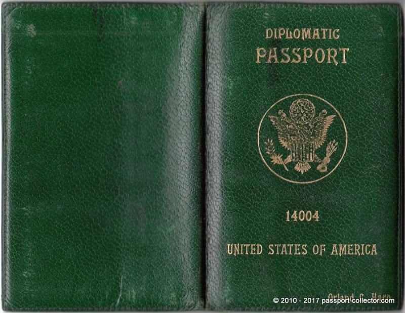 Us diplomatic passport