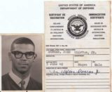 The Passport Of A Young African-American Issued in Germany