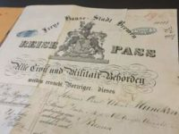 Passport Register from the City of Bremen 1863-1936
