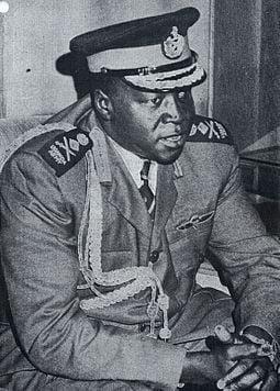The Passport of Uganda's Dictator Idi Amin from 1963