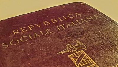 Italian Socialist Republic Passport, 1944 Berlin