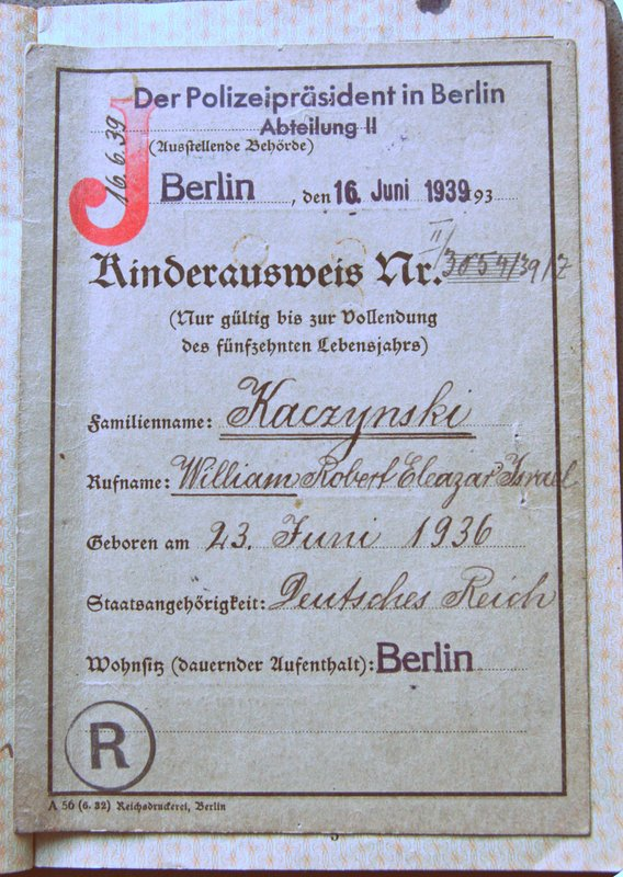 NS-Germany Children Passport