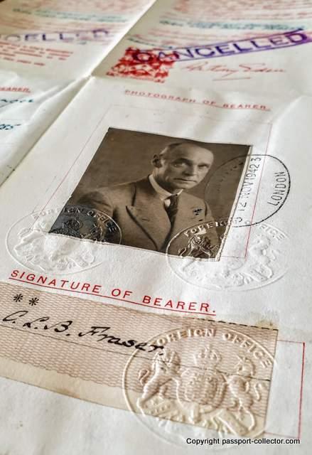King's Messenger passport