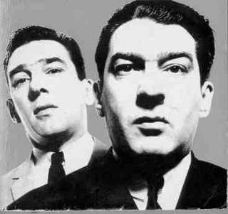 Passports of the infamous British Kray twin brothers